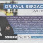 Dr. Paul Berzaczy – Zahnarzt (OE 24)